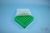 EPPi® Box 45 / 7x7 Fächer, grün, Höhe 45-53 mm variabel, ohne Codierung, PP....