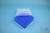 EPPi® Box 45 / 7x7 Fächer, neon-blau, Höhe 45-53 mm variabel, ohne Codierung,...