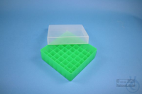 EPPi® Box 45 / 7x7 divider, neon-green, height 45-53 mm variable, without ID...