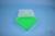 EPPi® Box 45 / 7x7 Fächer, neon-grün, Höhe 45-53 mm variabel, ohne Codierung,...