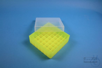 EPPi® Box 45 / 7x7 divider, neon-yellow, height 45-53 mm variable, without ID...