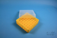 EPPi® Box 45 / 7x7 divider, yellow, height 45-53 mm variable, without ID...