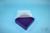 EPPi® Box 45 / 9x9 Fächer, violett, Höhe 45-53 mm variabel, ohne Codierung,...
