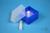 EPPi® Box 45 Junior / 4x4 Fächer, neon-blau, Höhe 45-60 mm variabel, ohne...