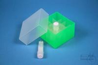 EPPi® Box 45 Junior / 4x4 divider, neon-green, height 45-60 mm variable,...
