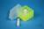 EPPi® Box 45 Junior / 4x4 Fächer, neon-gelb, Höhe 45-60 mm variabel, ohne...