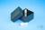 EPPi® Box 45 Junior / 1x1 ohne Facheinteilung, black/black, Höhe 45-60 mm...