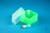EPPi® Box 45 Junior / 1x1 ohne Facheinteilung, neon-grün, Höhe 45-60 mm...