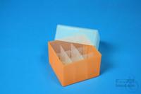 EPPi® Box 45 Junior / 3x3 divider, neon-orange, height 45-60 mm variable,...