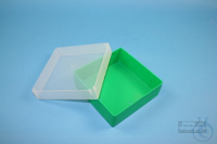 EPPi® Box 50 / 1x1 without divider, green, height 52 mm fix, without ID code,...