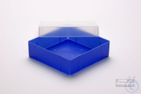 EPPi® Box 50 / 1x1 without divider, neon-blue, height 52 mm fix, without ID...