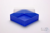 EPPi® Box 50 / 1x1 ohne Facheinteilung, neon-blau, Höhe 52 mm fix, ohne...