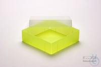 EPPi® Box 50 / 1x1 without divider, neon-yellow, height 52 mm fix, without ID...