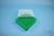 EPPi® Box 50 / 7x7 Fächer, grün, Höhe 52 mm fix, ohne Codierung, PP. EPPi®...