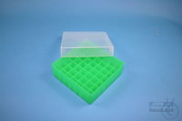 EPPi® Box 50 / 7x7 divider, neon-green, height 52 mm fix, without ID code,...
