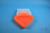 EPPi® Box 50 / 7x7 Fächer, neon-orange, Höhe 52 mm fix, ohne Codierung, PP....