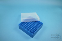 EPPi® Box 50 / 9x9 divider, blue, height 52 mm fix, without ID code, PP....