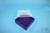 EPPi® Box 50 / 9x9 Fächer, violett, Höhe 52 mm fix, ohne Codierung, PP. EPPi®...