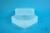 EPPi® Box 67 / 1x1 ohne Facheinteilung, transparent, Höhe 67 mm fix, ohne...