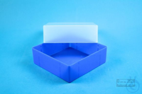 EPPi® Box 67 / 1x1 without divider, neon-blue, height 67 mm fix, without ID...