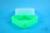 EPPi® Box 67 / 1x1 ohne Facheinteilung, neon-grün, Höhe 67 mm fix, ohne...