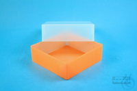 EPPi® Box 67 / 1x1 without divider, neon-orange, height 67 mm fix, without ID...