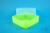 EPPi® Box 67 / 1x1 ohne Facheinteilung, neon-gelb, Höhe 67 mm fix, ohne...