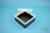 EPPi® Box 70 / 1x1 ohne Facheinteilung, schwarz, Höhe 70-80 mm variabel, ohne...