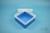 EPPi® Box 70 / 1x1 ohne Facheinteilung, blau, Höhe 70-80 mm variabel, ohne...