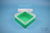 EPPi® Box 70 / 1x1 ohne Facheinteilung, grün, Höhe 70-80 mm variabel, ohne...