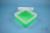 EPPi® Box 70 / 1x1 ohne Facheinteilung, neon-grün, Höhe 70-80 mm variabel,...