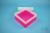 EPPi® Box 70 / 1x1 ohne Facheinteilung, neon-rot/pink, Höhe 70-80 mm...