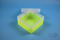 EPPi® Box 70 / 1x1 without divider, neon-yellow, height 70-80 mm variable,...