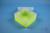 EPPi® Box 70 / 1x1 ohne Facheinteilung, neon-gelb, Höhe 70-80 mm variabel,...