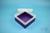 EPPi® Box 70 / 1x1 ohne Facheinteilung, violett, Höhe 70-80 mm variabel, ohne...