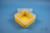 EPPi® Box 70 / 1x1 ohne Facheinteilung, gelb, Höhe 70-80 mm variabel, ohne...