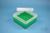 EPPi® Box 70 / 7x7 Fächer, grün, Höhe 70-80 mm variabel, ohne Codierung, PP....