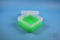 EPPi® Box 70 / 7x7 divider, neon-green, height 70-80 mm variable, without ID...