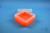 EPPi® Box 70 / 7x7 Fächer, neon-orange, Höhe 70-80 mm variabel, ohne...