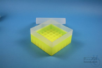 EPPi® Box 70 / 7x7 divider, neon-yellow, height 70-80 mm variable, without ID...