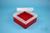 EPPi® Box 70 / 7x7 Fächer, rot, Höhe 70-80 mm variabel, ohne Codierung, PP....