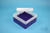 EPPi® Box 70 / 7x7 divider, violet, height 70-80 mm variable, without ID...