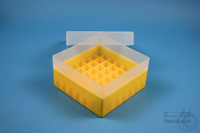EPPi® Box 70 / 7x7 divider, yellow, height 70-80 mm variable, without ID...