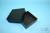 EPPi® Box 75 / 1x1 ohne Facheinteilung, black/black, Höhe 75 mm fix, ohne...