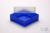 EPPi® Box 75 / 1x1 ohne Facheinteilung, neon-blau, Höhe 75 mm fix, ohne...