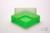 EPPi® Box 75 / 1x1 ohne Facheinteilung, neon-grün, Höhe 75 mm fix, ohne...