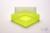 EPPi® Box 75 / 1x1 ohne Facheinteilung, neon-gelb, Höhe 75 mm fix, ohne...