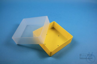 EPPi® Box 75 / 1x1 without divider, yellow, height 75 mm fix, without ID...