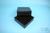 EPPi® Box 75 / 7x7 Fächer, black/black, Höhe 75 mm fix, ohne Codierung, PP....
