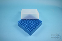 EPPi® Box 75 / 7x7 divider, blue, height 75 mm fix, without ID code, PP....